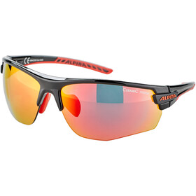 Alpina Tri-Scray 2.0 HR Gafas, black-red/red mirror